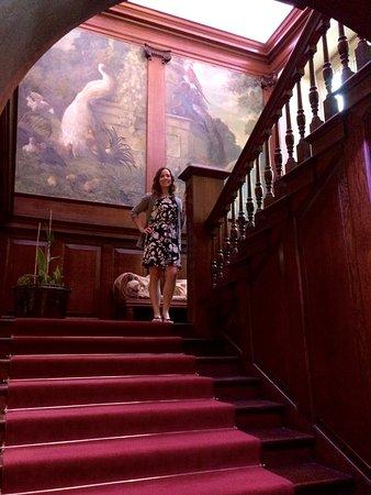 Llyswen, UK: Grand staircase