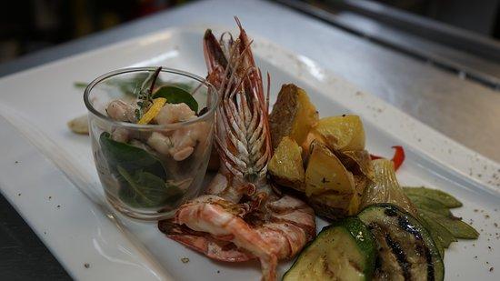 Ettenheim, Tyskland: Seefood Teller