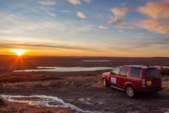 John O'Groats, UK: Your travel vehicle - a luxury 4x4