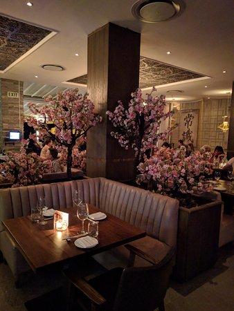 Umi: Innenansicht des Restaurant