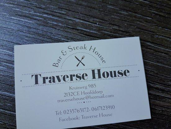 Traverse House Carte De Visite