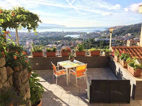 Stunning views of the city review of 88 miglia la spezia italy tripadvisor