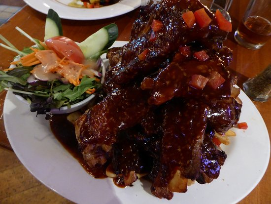 Speights Ale House: Pork ribs