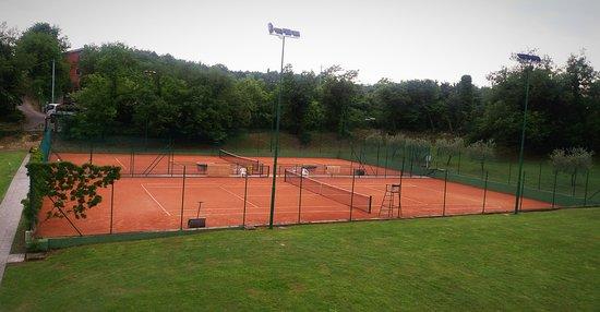 Marciaga di Costermano, Ιταλία: campi da tennis