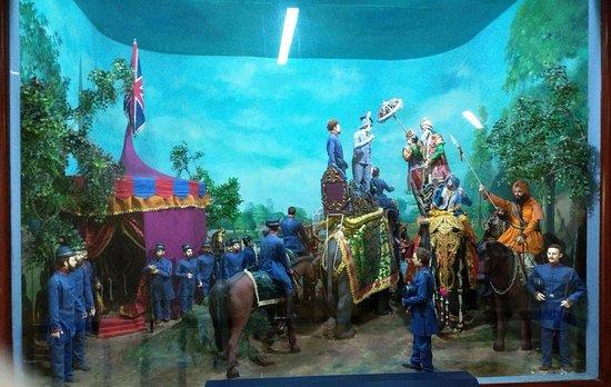 Maharaja Ranjit Singh Museum: Treaty with British