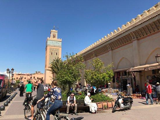 Riding through the new city - Picture of Marrakech City Bike Tour ... a1496f0ba