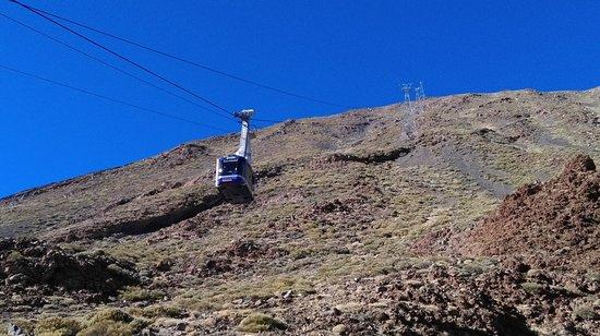 Teide Cable Car: Cable car2