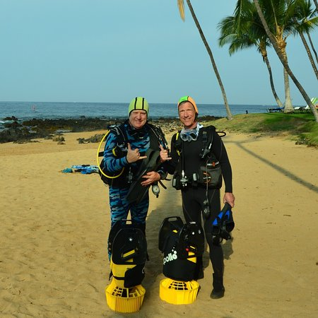 Scuba Luv Maui: Steve an Ken ready to scooter