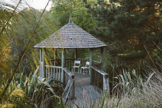 Tremenheere Sculpture Gardens: The Garden Pagoda.