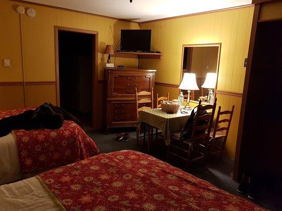 Big Indian, NY: Vista do quarto