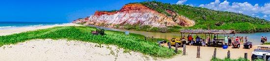 Gunga Beach: Passeio de quadriciclo pelas falésias do Gunga