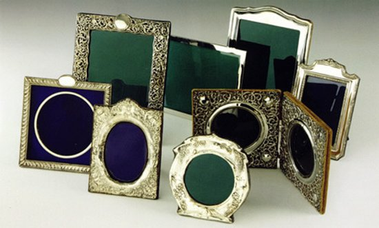 0ceca53fcddf Antique Silver Picture Frames - Image Antique and Candle ...