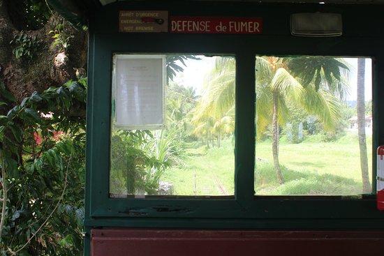 Sainte Marie, Martinica: sur la route