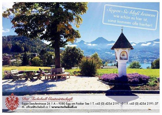 Egg am See, Austria: Blick auf den Faaker See