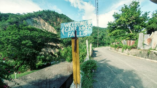 Image result for cane river falls sign