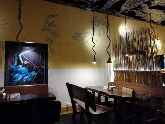 Good food and exotic interiors