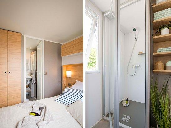 Suite parentale et salle de bain du Cottage / Master-Room & bathroom ...