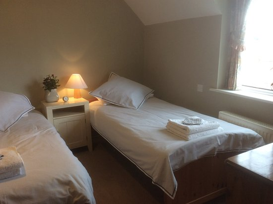 Amberley, UK: Our twin-bedded room