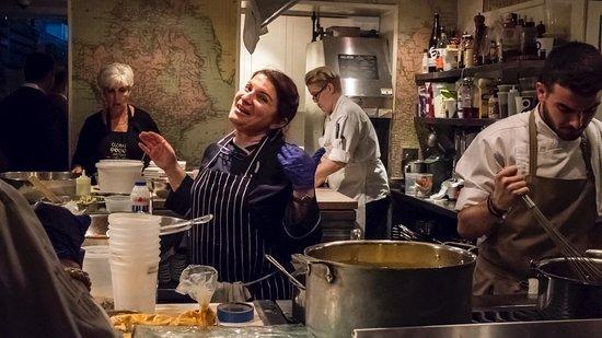 Cooking Diva Argiro Barbarigou At The Famous James Beard House