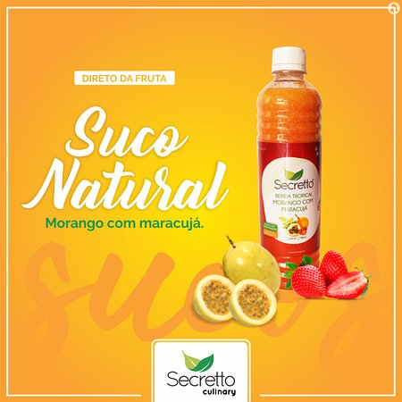 Secretto Culinary: Suco Natural