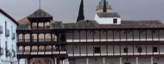 Tembleque, Spanje: balcones caracteristicos