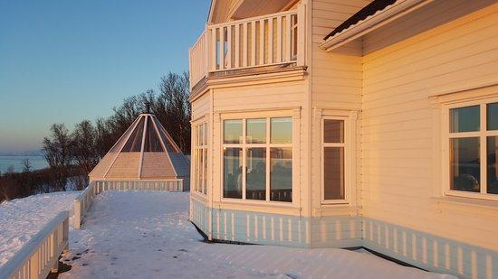Lyngen Municipality, Norwegia: Haus