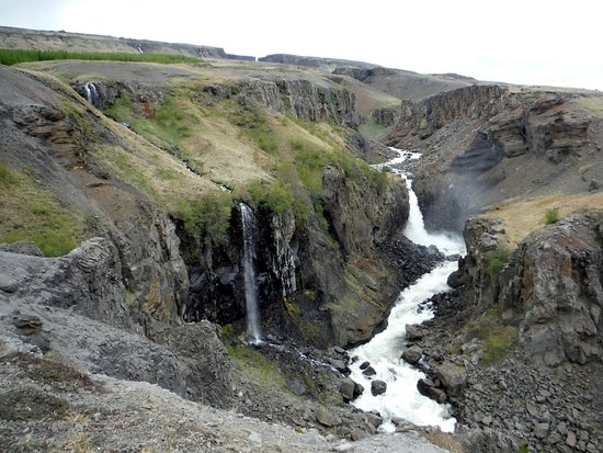 Hengifoss Waterfall