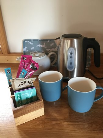 Kirkby Mallory, UK: Complementary refreshments