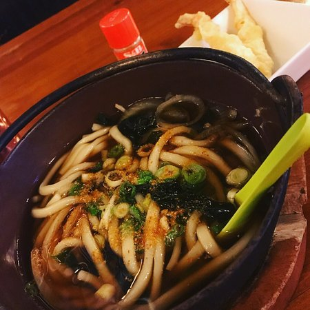 Madison, TN: Great shrimp tempura udon soup and kanikarage appetizer