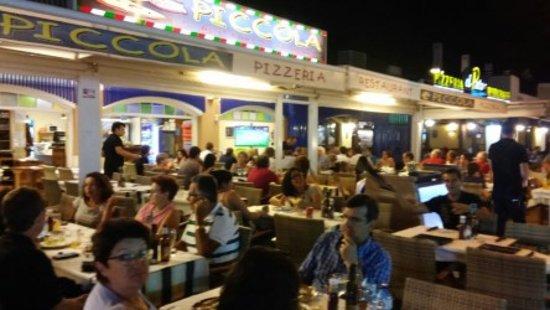 Terraza Piccola Por La Noche Picture Of Restaurant