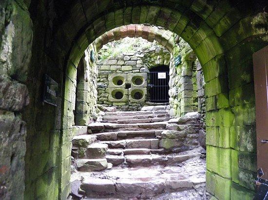 Stonehaven, UK: L'entrée
