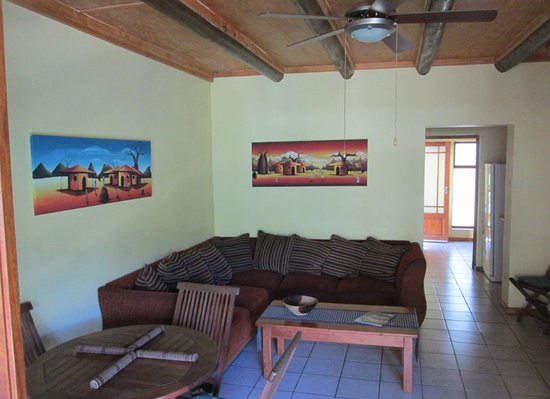 Southbroom, Südafrika: Room interior with an African vibe.