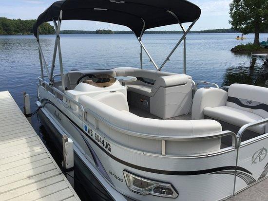 Birchwood, Висконсин: Pontoon Boat Rentals