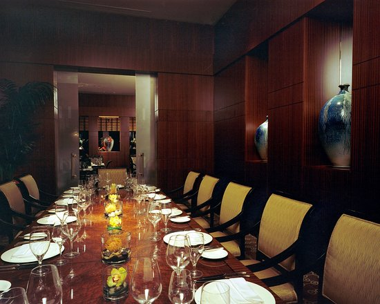 The Umstead Hotel and Spa: Herons Private Dining Room