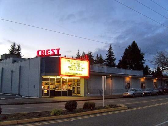 The Crest is a fun, second run theater in Shoreline.