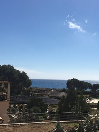 Коста-д'эн-Бланес, Испания: Blick aufs Meer aus dem 4. OG