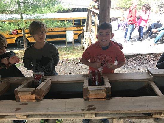 Woodville, AL: Kids mining