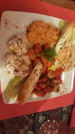 Istanbul : Entrée végétarienne