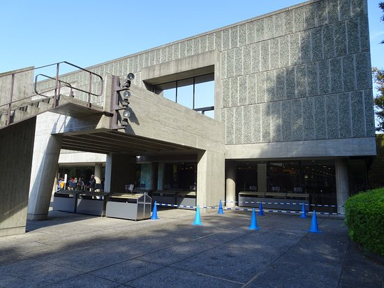 National Museum of Western Art: Le Corbusier's Signature Columns that Support Building