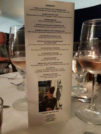 Champers Restaurant: 20180306_184349_large.jpg