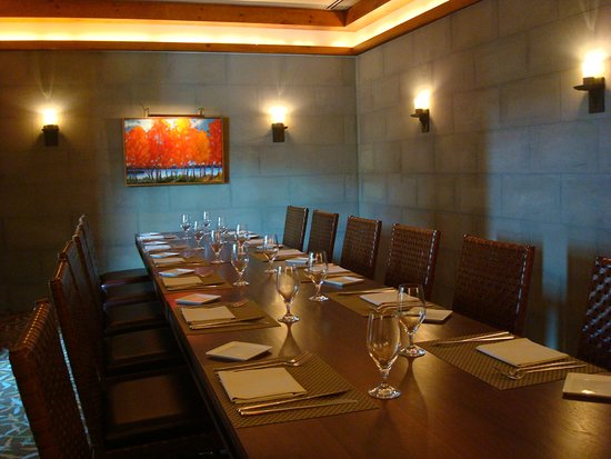 Solstice Private Dining Room