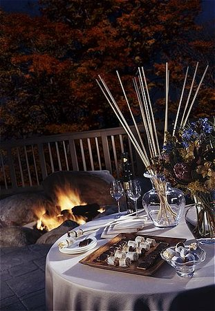 S'mores on the Solstice outdoor terrace