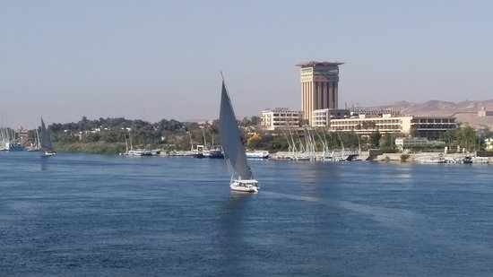 Egypt Tailor Made Day Tours: Feluccas on the Nile at Aswan