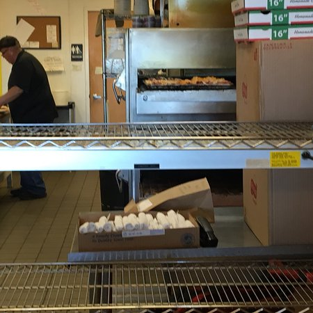 Saline, MI: Pickup order for a Ruben and Italian grinders