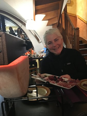 Saint Michel de Maurienne, França: divine raclette !!
