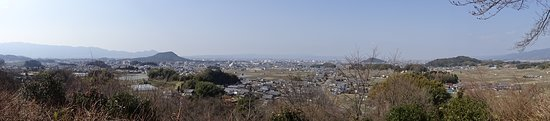 Amakashi no Oka: 甘樫の丘 (奈良県 明日香村)