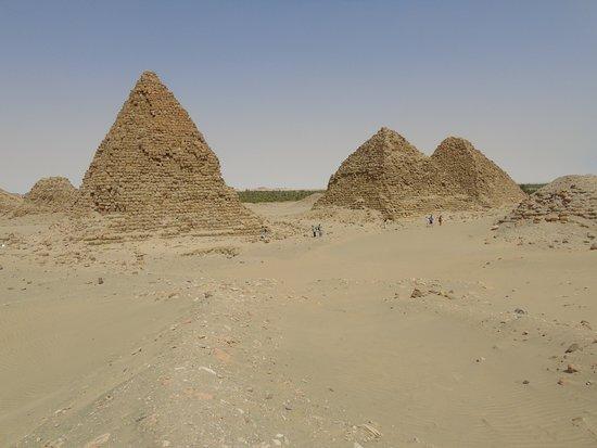 Kerma, Soudan : Piramidy w Nuri