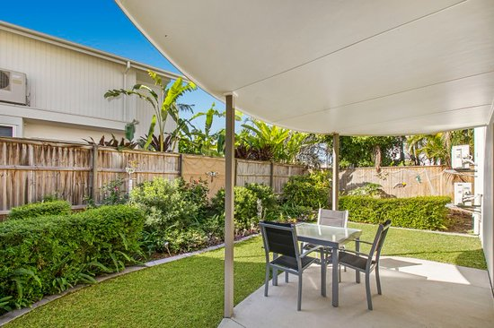Noosa River Palms Resort: 1 bedroom garden apartment
