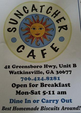 Watkinsville, جورجيا: Suncatcher Cafe