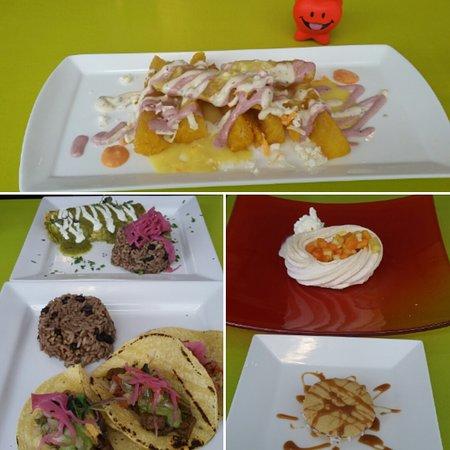 Che Resto Bar : Yucca fries, chicken empanadas, beef tacos, alfajores and passionfruit pavlova :)